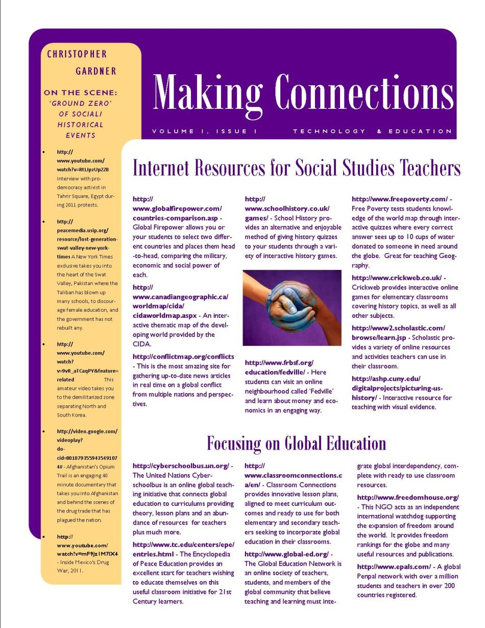 Making Connections - Technology & Education